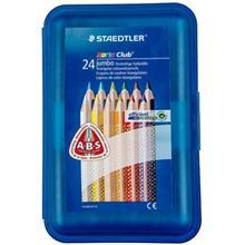 مداد رنگي 24 رنگ استدلر مدل نوريس کلاب جامبو کد 1284S24