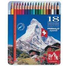 مداد آبرنگي 18 رنگ کارن داش سري پريس مالو آکوآرله کد 999318