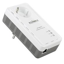 Edimax HP-2002AC 200Mbps PowerLine Ethernet Adapter with Integrated Power Socket