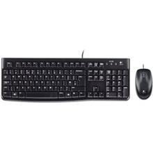 Logitech MK120 Wired Keyboard and Mouse With Persian Letters