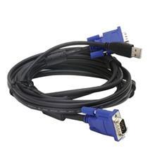 D-Link DKVM-CU 180 CM 2 in 1 USB KVM Cable