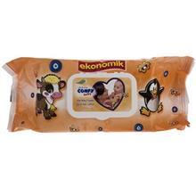 دستمال مرطوب کودک کانفی بیبی - بسته 90 عددی