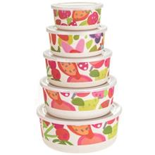 ظرف دردار 10 تکه مدل میوههای تابستانی