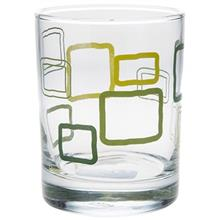 San Marino 0143 Rectangular Glass Pack Of 6