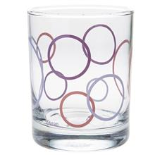 San Marino 0145 Circular Glass Pack Of 6
