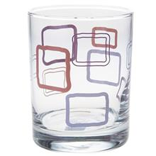 San Marino 0142 Rectangular Glass Pack Of 6