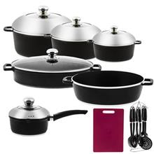 PSD 152633 Cookware Set 19 Pieces
