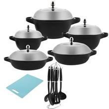 PSD 51218 Cookware Set 18 Pieces