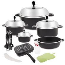 PSD 51221 Cookware Set 21 Pieces