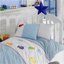 Cotton Box Akvaryum 1 Person 4 Pieces Child Bedsheet Set