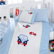 Cotton Box Araba 1 Person 4 Pieces Child Bedsheet Set