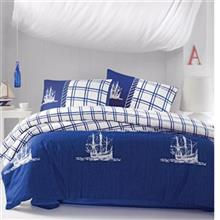 Cotton Box Nautical 1 Persons 3 Pieces Sleep Set