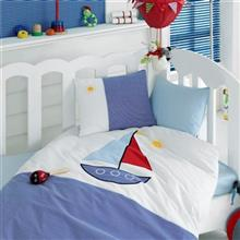 Cotton Box Yelkenli 1 Person 4 Pieces Child Bedsheet Set