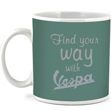 Vespa Find Your Way Mug