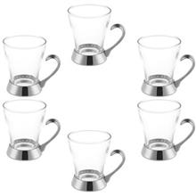 Sabinex Crown 004 Glass Pack of 6