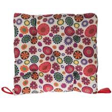 Home And Life Melorin Colorful Flowers Cushion