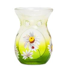 Yankee Candle Daisy Crackle Glass Duftlampe Candle Holder