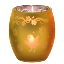 Yankee Candle Glass Ba Av Chick Candle Holder