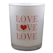 Yankee Candle Love Glass Candle Holder