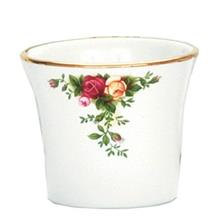 Yankee Candle Rose Glass Candle Holder