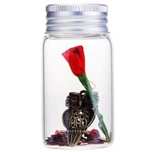 Golden Metal Owl With Red Satin Roses In Glass 1411B