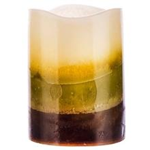 شمع بدون شعله هارمونی مدل پاین اسپایس کریم، ماس و براون کد SP-LEDP34GN