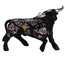 Nadal Bull Black Large 765089 Memory Collection Statue