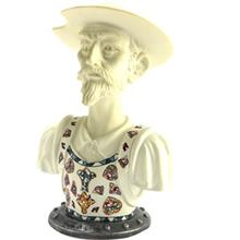 Nadal Bust Of Don Quixote White 763003 Memory Collection Statue