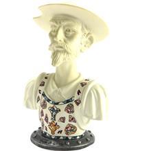 مجسمه نادال مدل Bust Of Don Quixote White