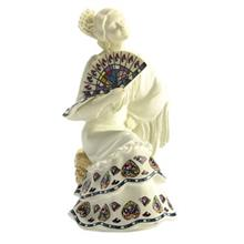 Nadal Gracefully Fanning White 763000 Memory Collection Statue