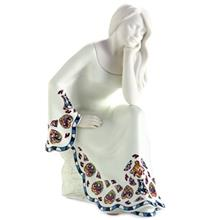Nadal Relaxing White Small 765032 Sirene Collection Statue
