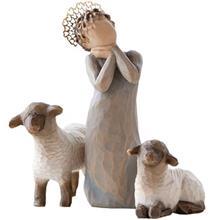 Willow Tree Little Shepherdess 26442 Statue