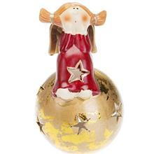 Sitting On The Ball Angel Tealight Candlestick SF10008