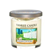 Yankee Candle Clean Cotton Small Glass Candle