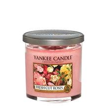 Yankee Candle Fresh Cut Rose Small Glass Candle