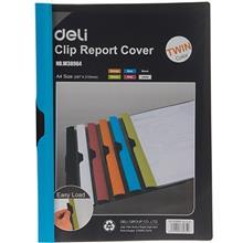 کاور کاغذ A4 دلي مدل Twin Color - با گيره متحرک