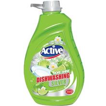 Active Dishwasher Liquid Silver Green 2000ml