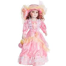 Porcelain Princess Pink Size 4 Decorative Doll