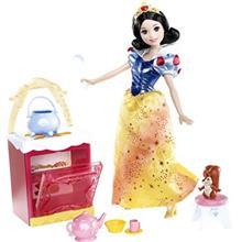 عروسک ديزني سري پرنسس مدل Snow White Kitchen