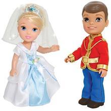 Disney Princess And Prince 75687 Set 1 Size 2 Doll
