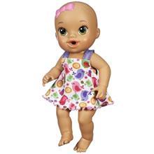 عروسک هاسبرو مدل Sips N Cuddles Baby Ast A92 سايز متوسط