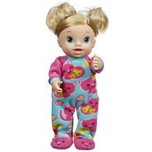 عروسک هاسبرو مدل Tickles And Cuddles Baby سايز متوسط