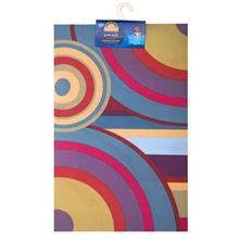 Mahsun Colored Circle Indoor Mat
