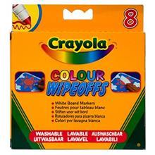 ماژیک رنگ آمیزی کرایولا مدل Wipeoff Pens - بسته 8 عددی