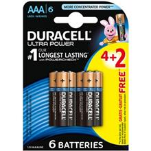 Duracell Ultra Power Duralock AAA Battery Pack Of 6