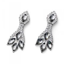 گوشواره مدل دیاموند Earring Piquance rhod. bl. diamond