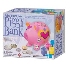 4m Paint Your Own Piggy Bank 04505 Educational Kit