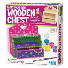 کيت آموزشي 4ام مدل صندوق چوبي کد 04578