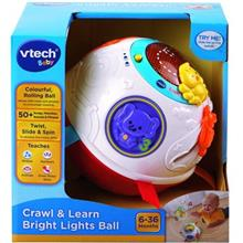 Vtech Crawl and Learn Bright Lights Ball 80-151503 Educational Game