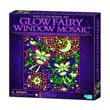 4M Glow Fairy Window Mosaic 04647 Educational Kit